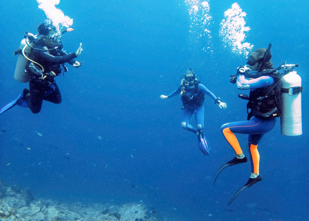 Blue Corner Learn to Scuba Dive Nusa Lembongan Bali