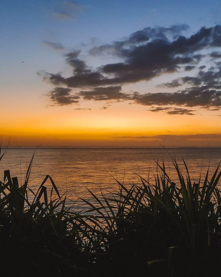 Nusa Ceningan Sunset Bali