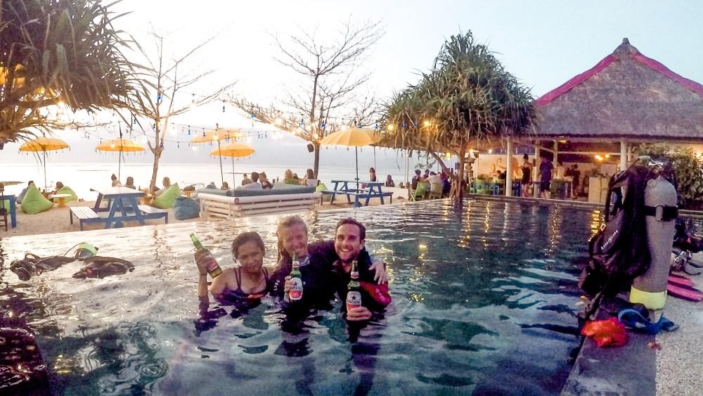 Bar Hop Nusa Lembongan Bali Indonesia Blue Corner