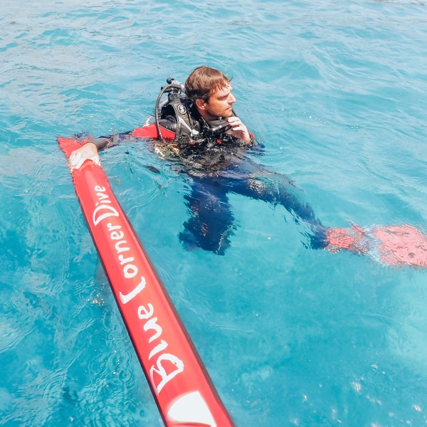 Divemaster Training Blue Corner Dive Nusa Lembongan Indonesia