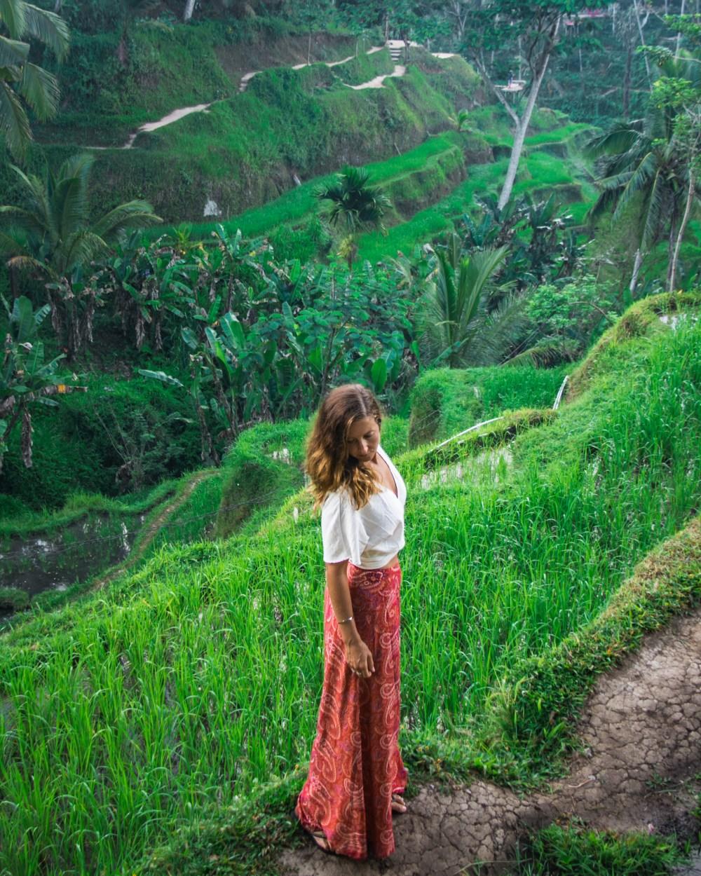 Tegallalang Rice Terraces Ubud Bali Indonesia