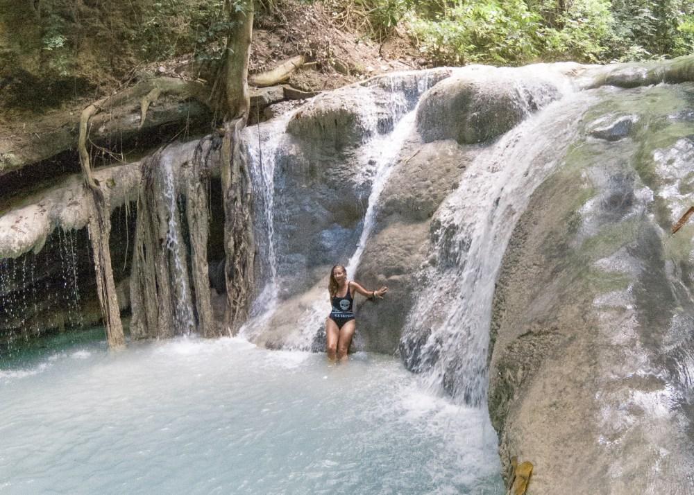 Anguid Waterfall Cebu Philippines