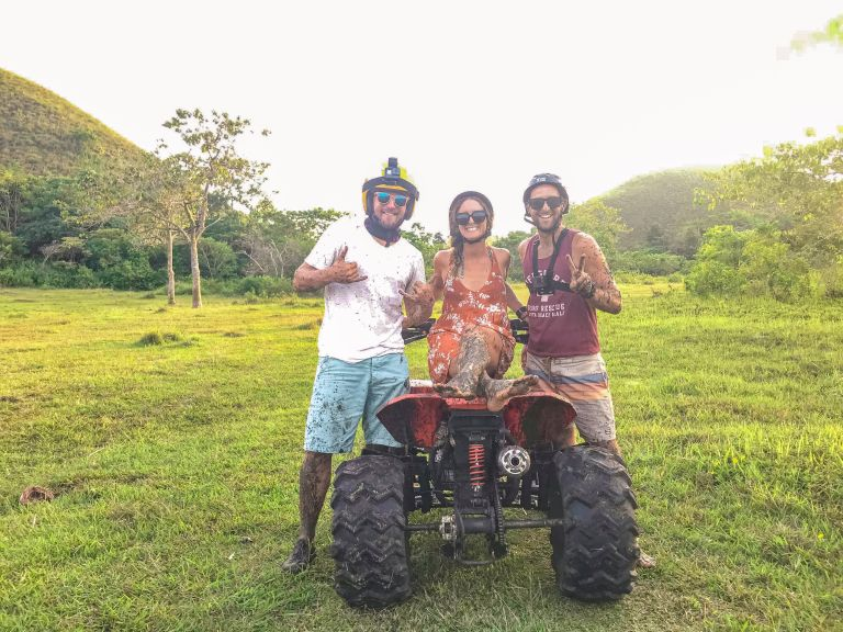 Chocolate Hills ATV Bohol Philippines