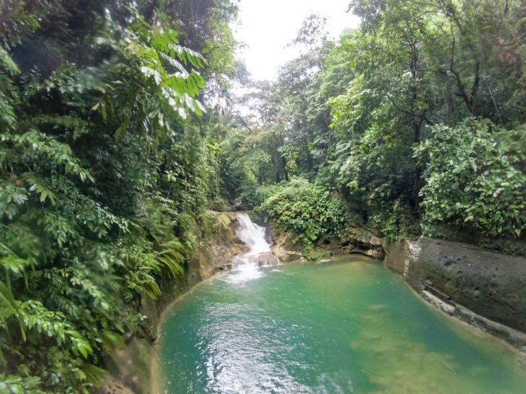 Magaso Falls Bohol Philippines