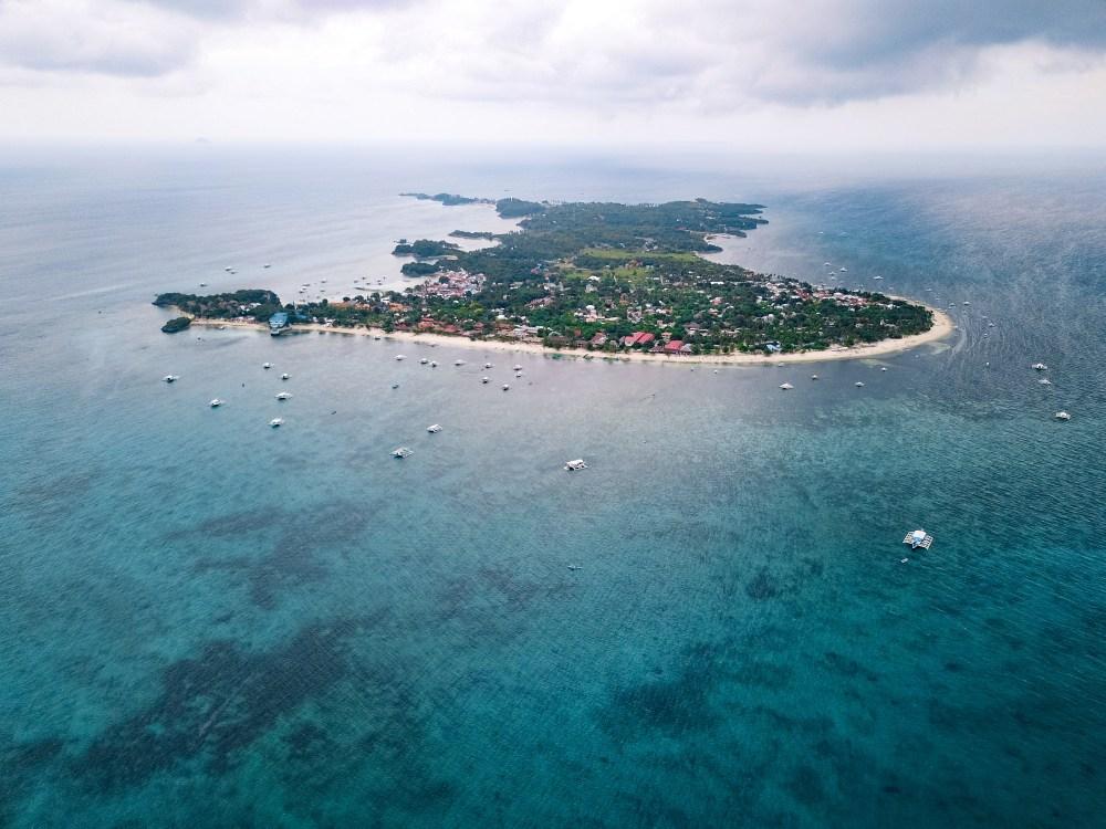Malapascua Island Cebu Philippines Drone