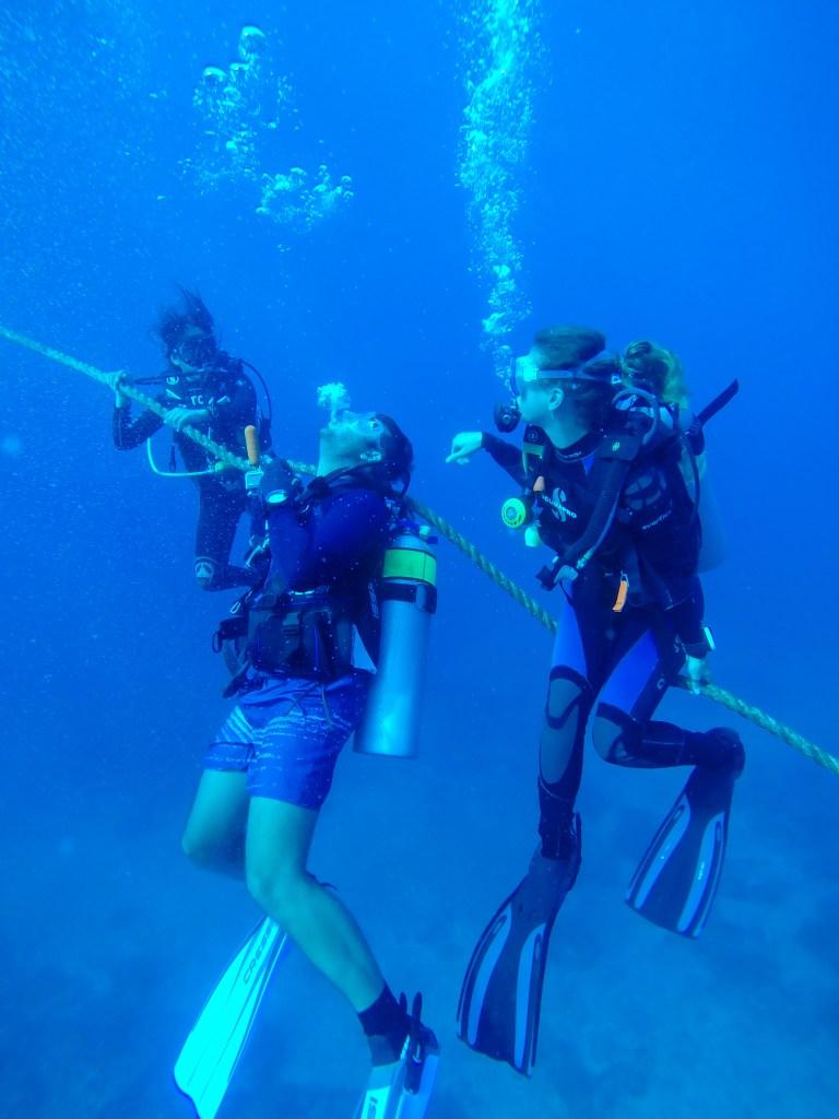 Malapascua Island Cebu Philippines Scuba Divers
