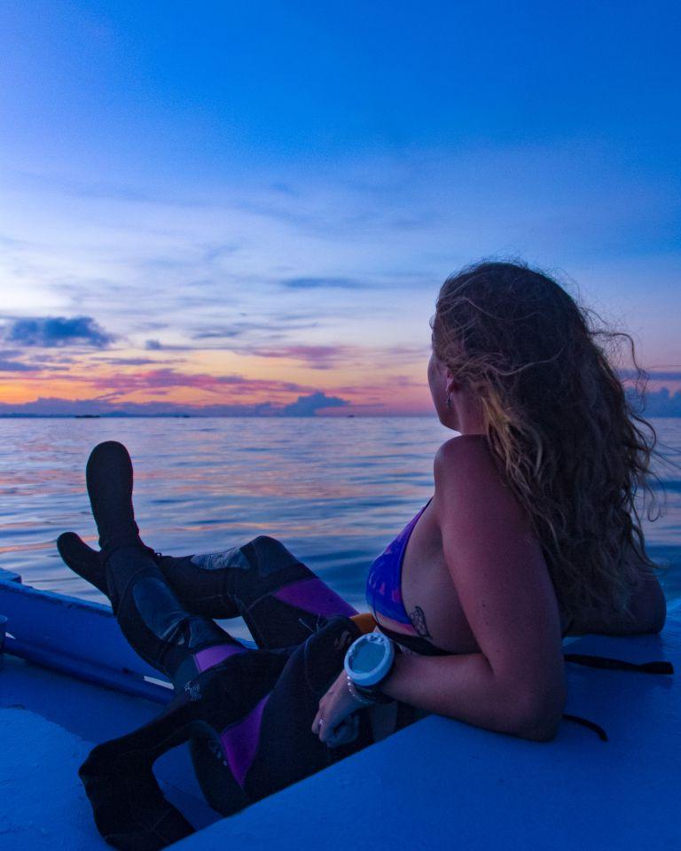 Malapascua Island Cebu Philippines Sunrise Dive