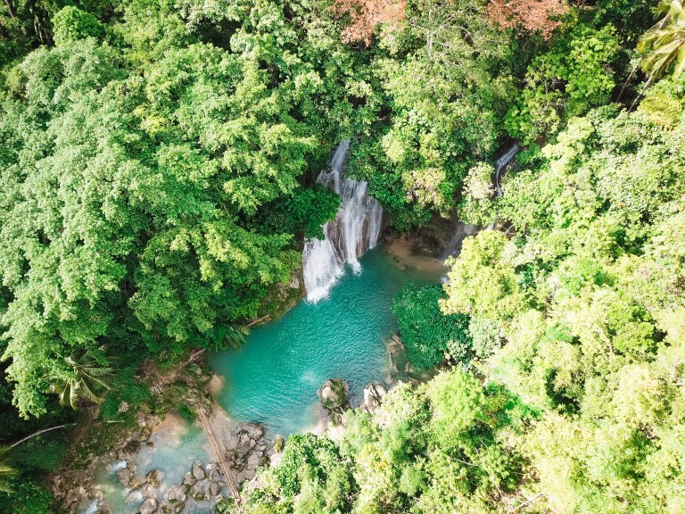 Twin Falls Bohol Philippines