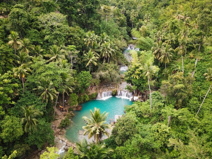 Cambugahay Falls Siquijor Philippines
