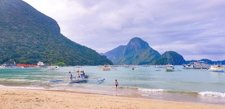 El Nido Main Beach Palawan Philippines