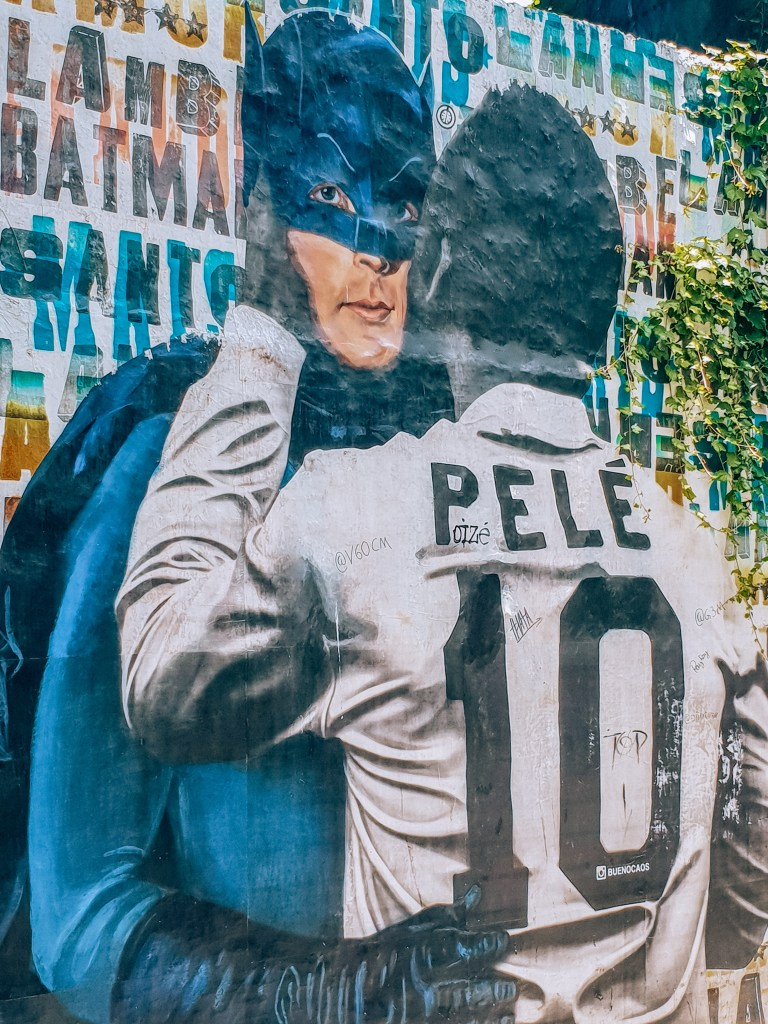 Beco do Batman Sao Paulo Brazil South America Pele