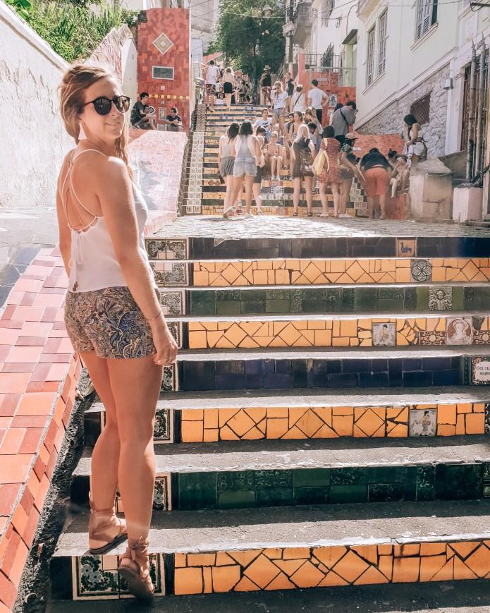Escadaria Selarón Wanderlust Rio de Janeiro Brazil South America