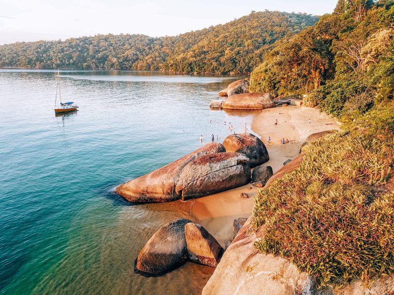 Ilha Grande Rio de Janeiro Brazil Bananal