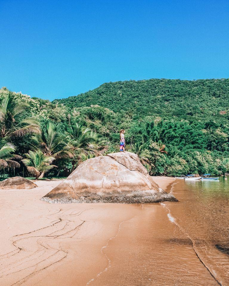 Ilha Grande Rio de Janeiro Brazil Beach Babe