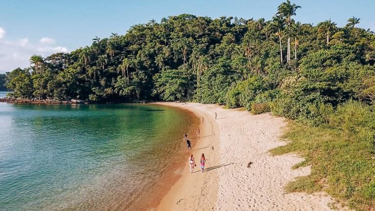 Ilha Grande Rio de Janeiro Brazil Beach Walk