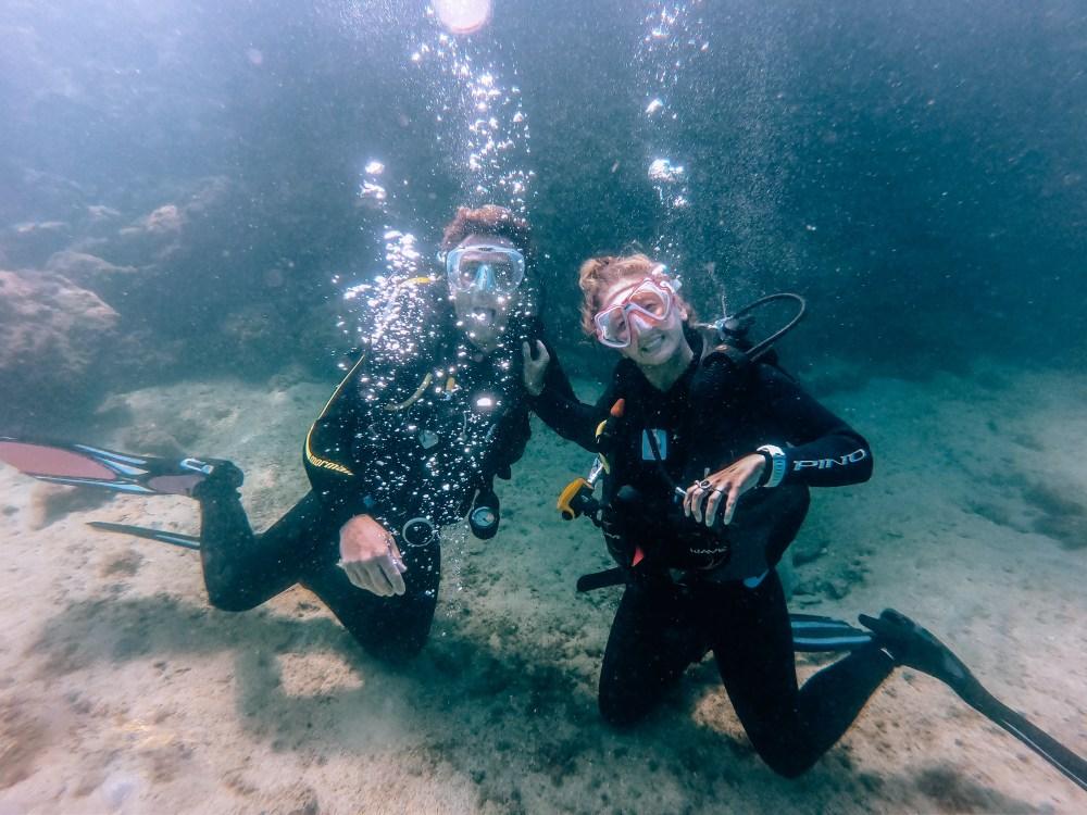 Ilha Grande Rio de Janeiro Brazil Scuba Diving Couple