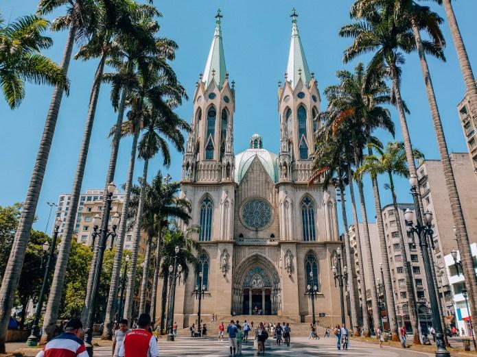 São Paulo Cathedral Brazil South America