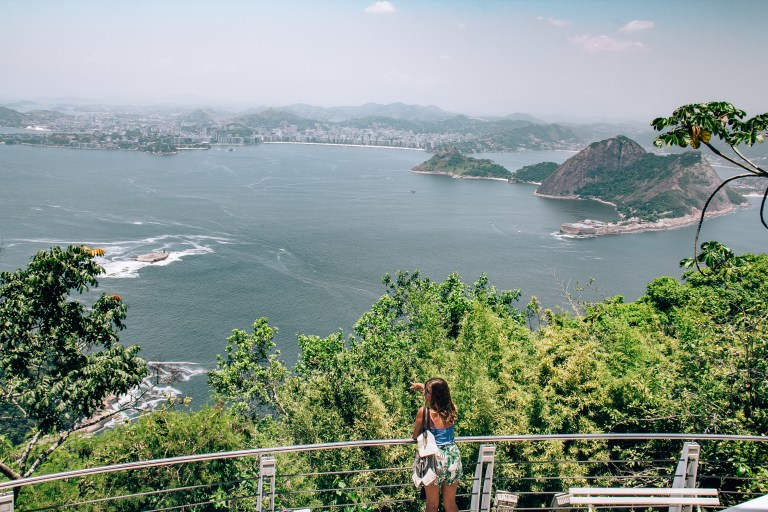 Sugarloaf Mountain Vista Rio de Janeiro Brazil South America