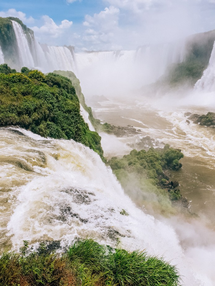 Cataratas do Iguacu Brazil Iguazu Falls Devils Throat