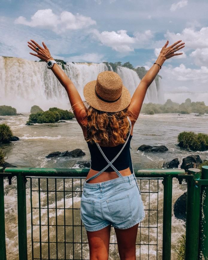 Cataratas do Iguacu Brazil Instagram Pose