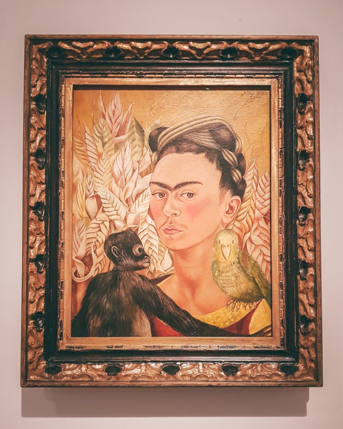 Frida Kahlo self portrait MALBA Buenos Aires Argentina South America