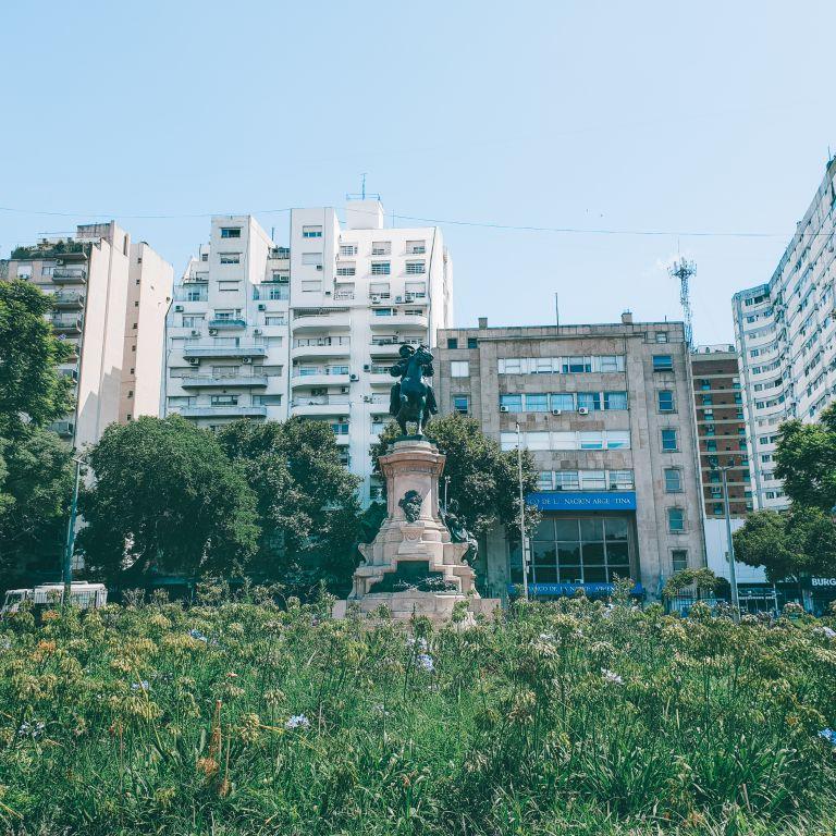 Plaza Italia Buenos Aires Argentina