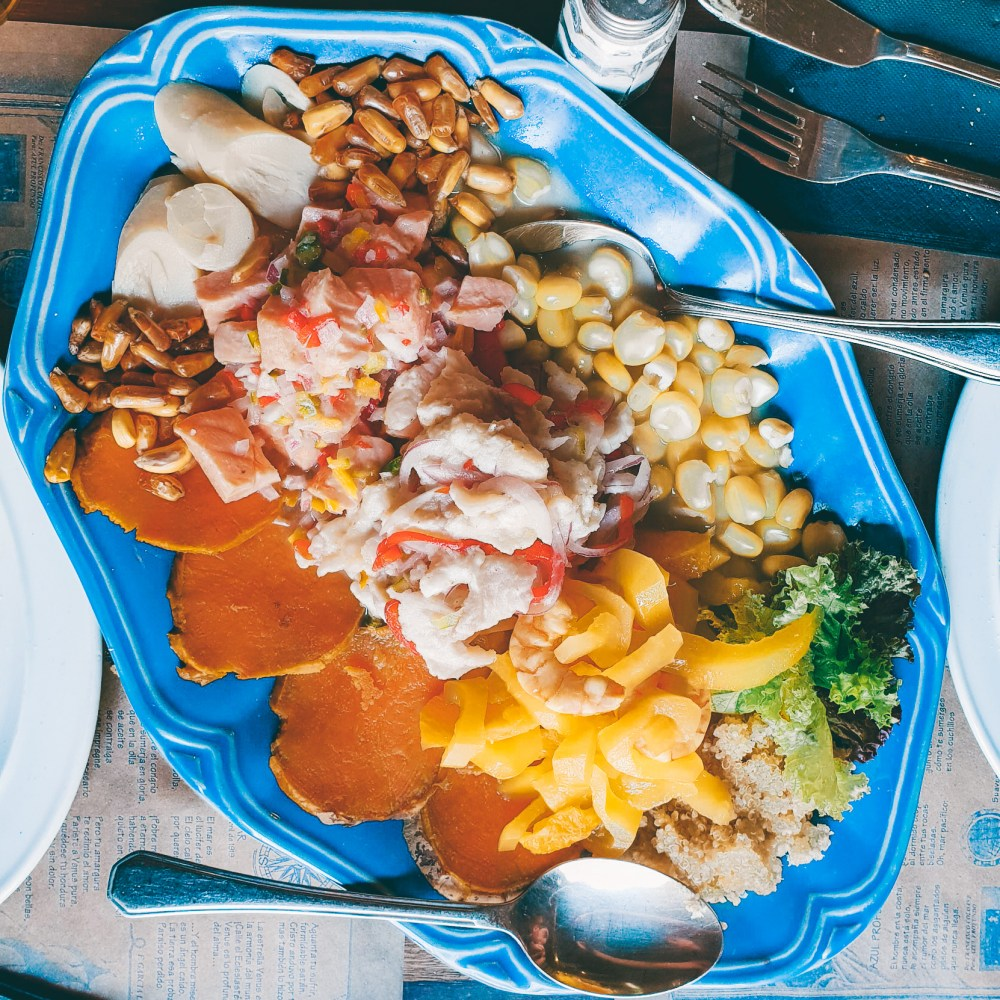 Ceviche Platter Santiago Chile South America