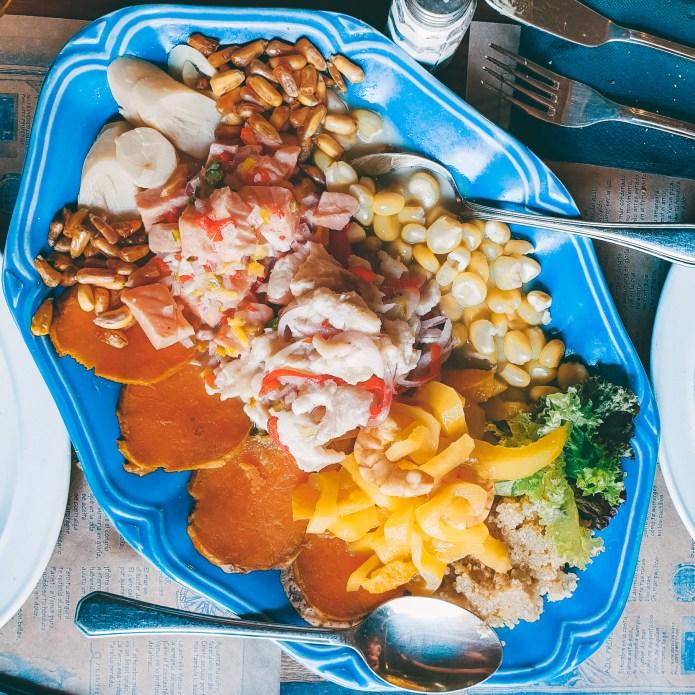 Ceviche Platter Santiago Chile South America