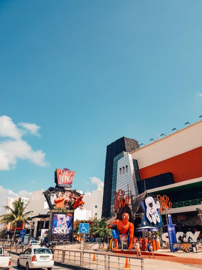Main Street Cancun Mexico North America