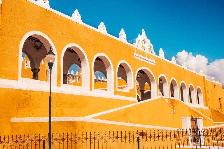Izamal Yellow City Yucatan Mexico North America