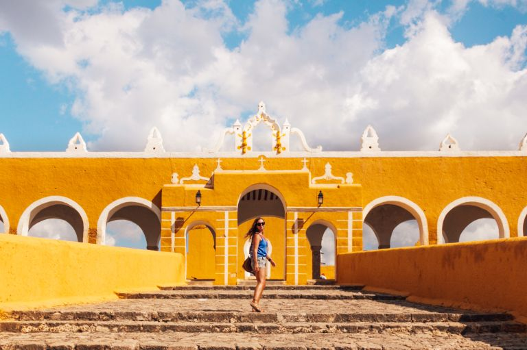 Izamal Yucatan Mexico North America