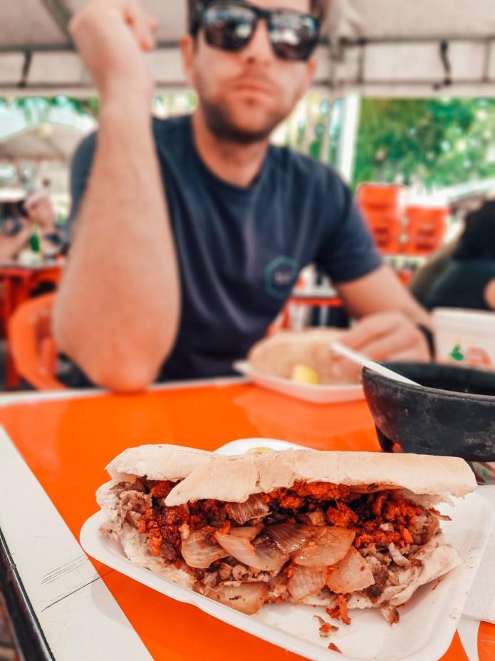 Plaza Grande Sunday Market Merida Mexico North America Breakfast