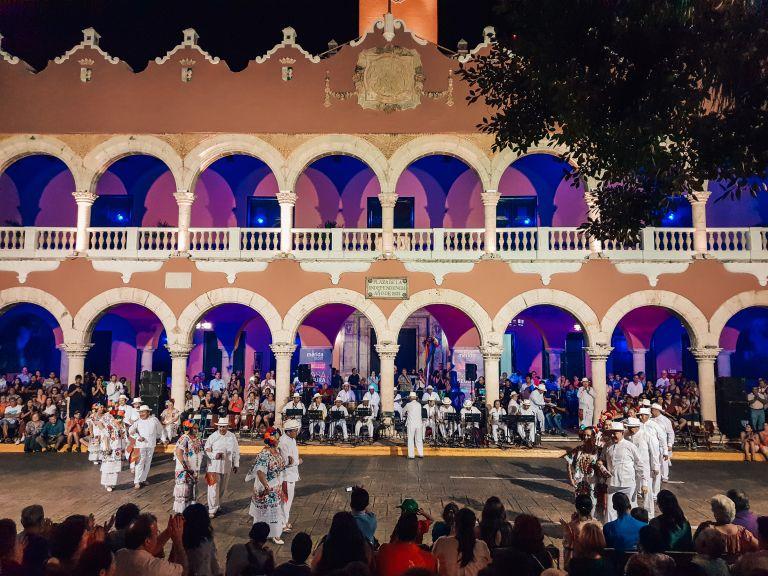 Vaqueria Night Merida Mexico North America