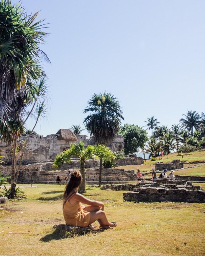 Tulum Ruins Quintana Roo Mexico North America