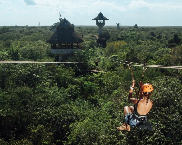 Xplor Playa del Carmen Mexico North America Zipline