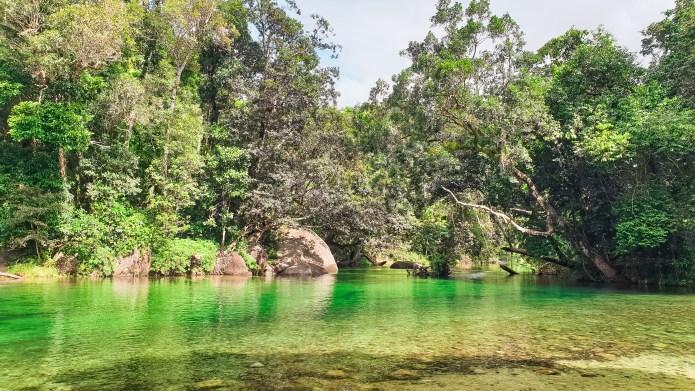Babinda Boulders Cairns Queensland Australia