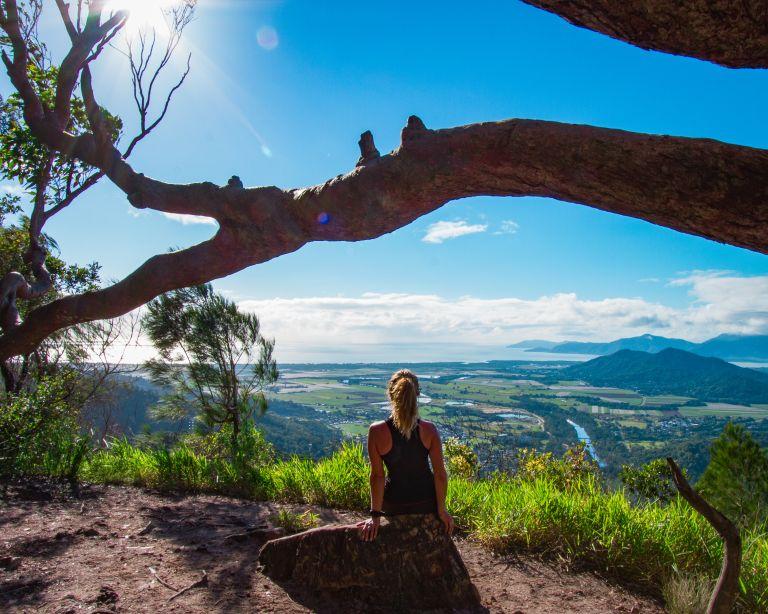 Stoney Creek Glacier Rock Cairns Queensland Australia