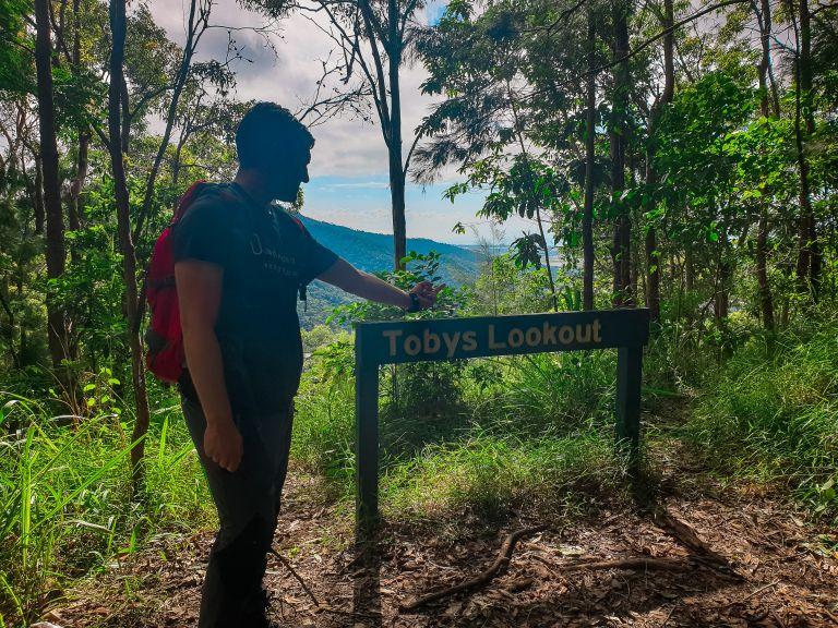 Stoney Creek Tobys Lookout Cairns Queensland Australia