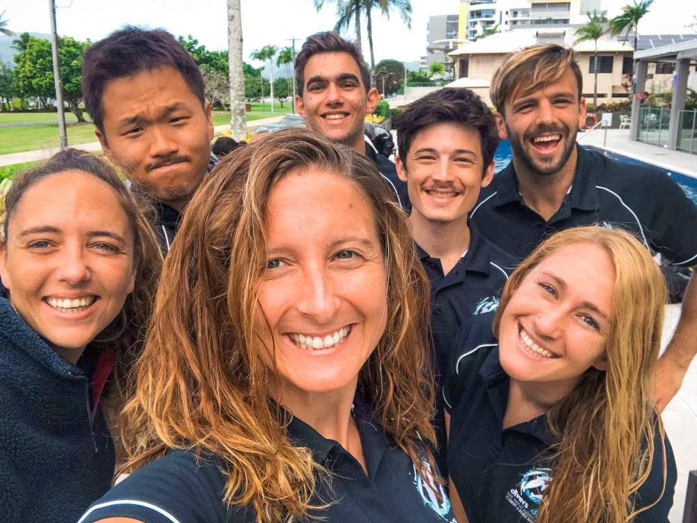Instructors Exam Divers Den Queensland Australia
