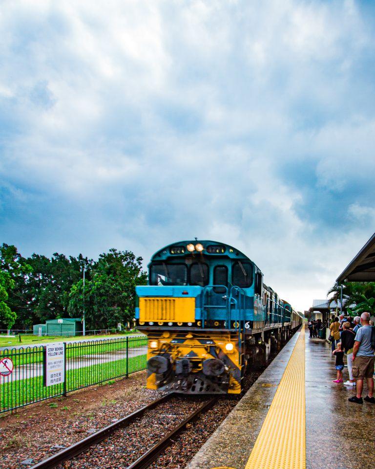 Station Kuranda Scenic Railway Cairns Queensland Australia