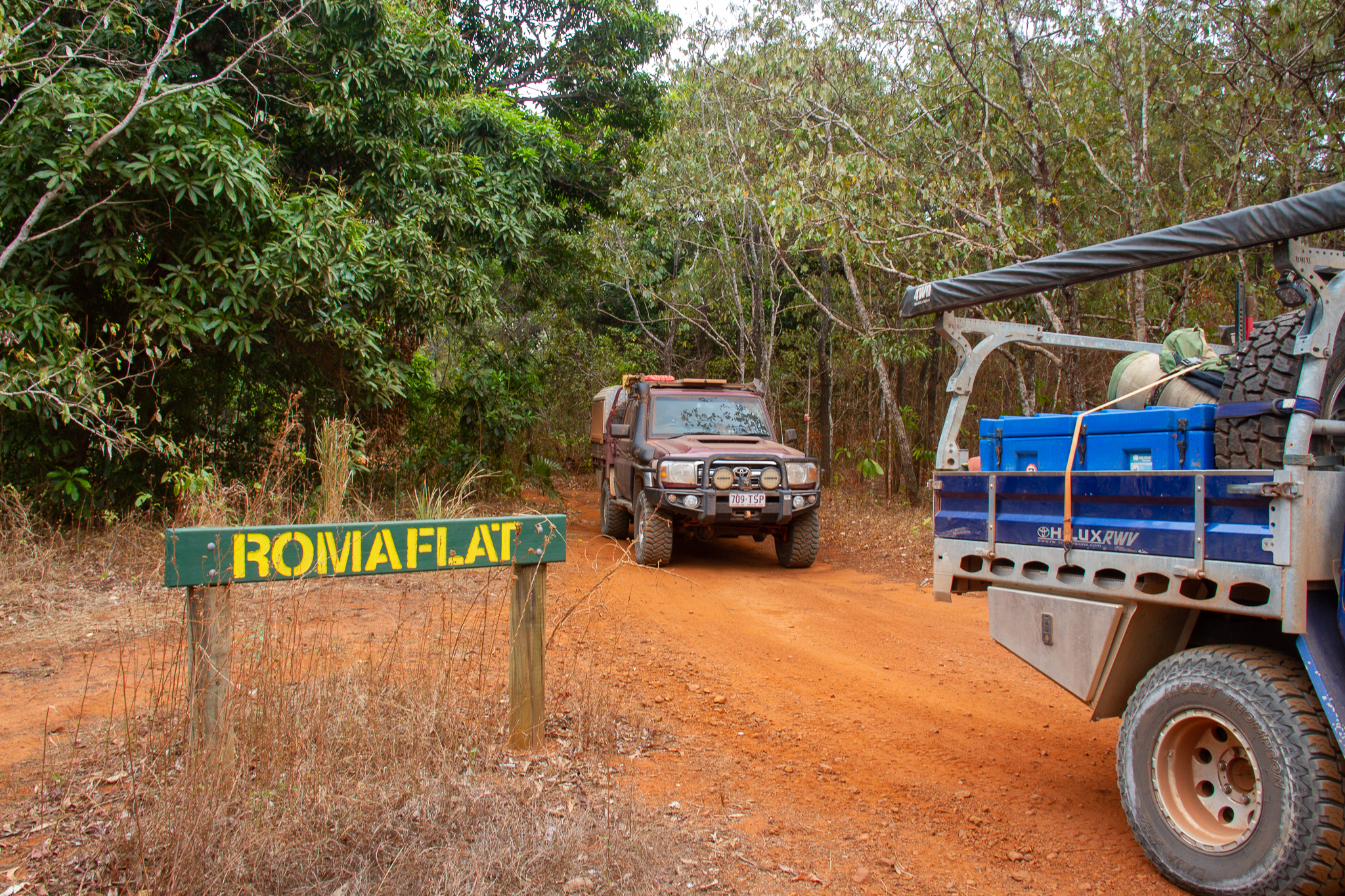 4wd Roma Flats Cape York Queensland Australia