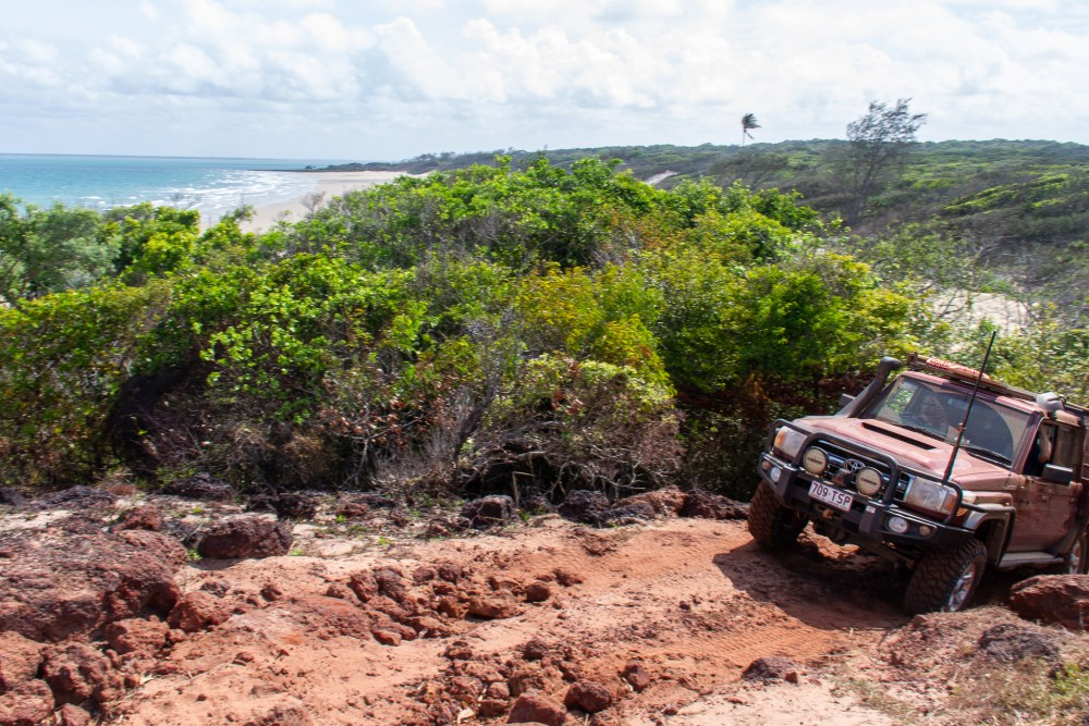 Four Wheel Drive Five Beaches Cape York Queensland Australia