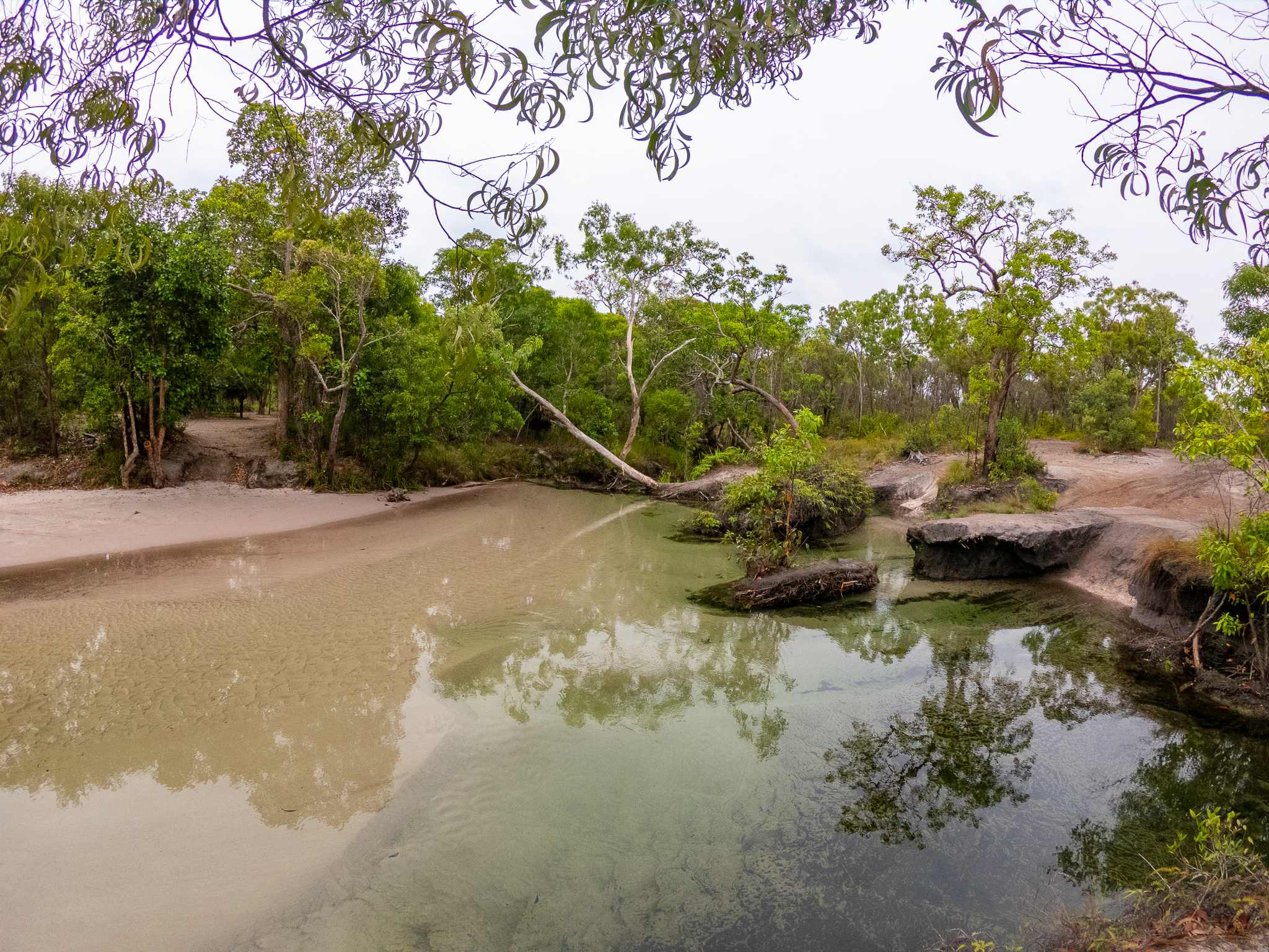 Creek Crossing Cape York Queensland Australia