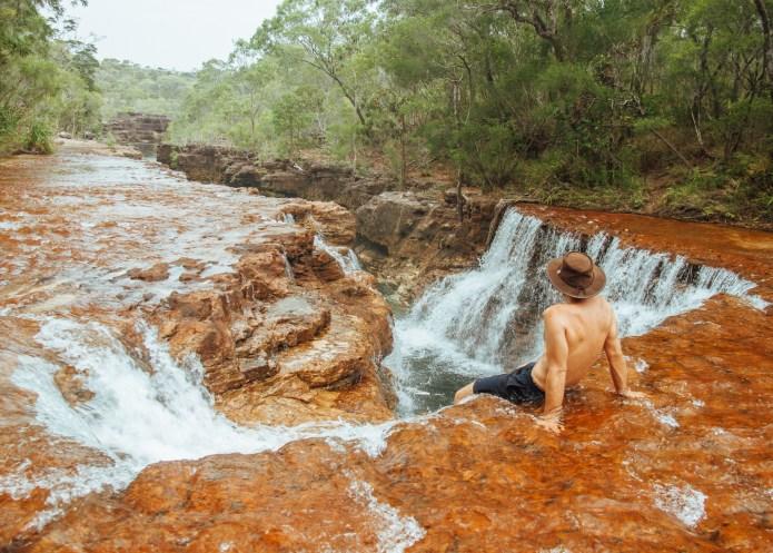 Twin Falls Cape York Queensland Australia