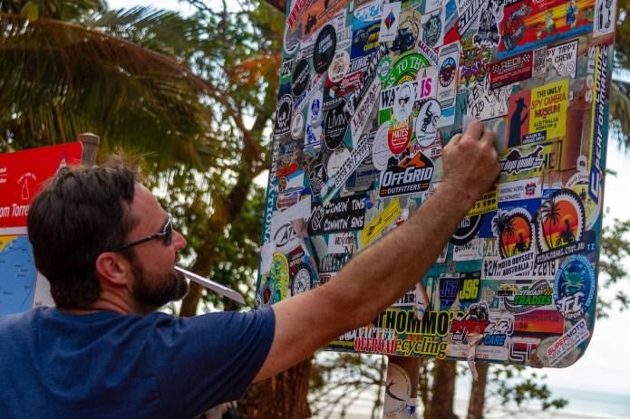 Sticker Collection Cape York Queensland Australia