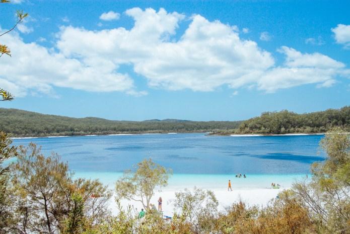 Lake McKenzie Fraser Island Queensland Australia