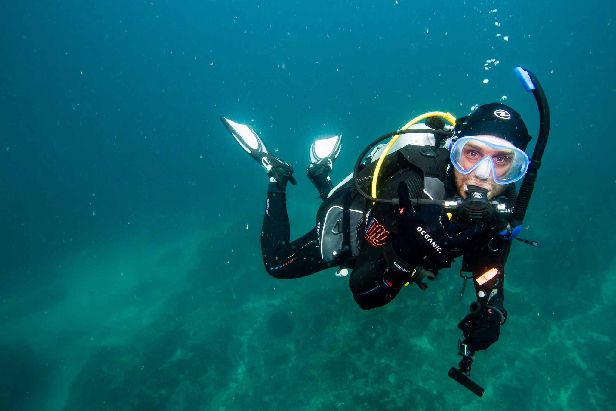 Scuba Diving Julian Rocks NSW Australia