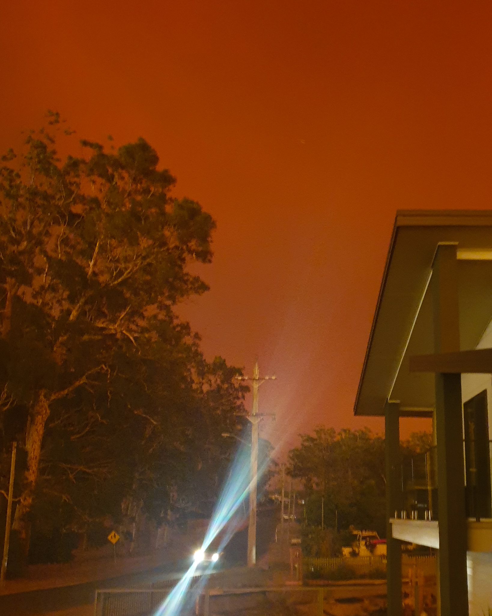 Bush Fire New South Wales Australia