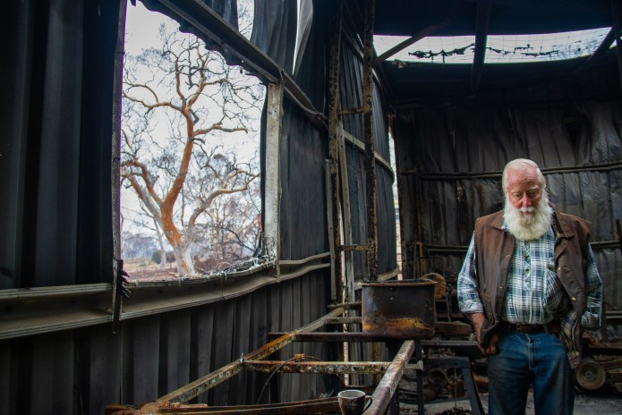 Farm Owner BlazeAid Braidwood New South Wales Australia