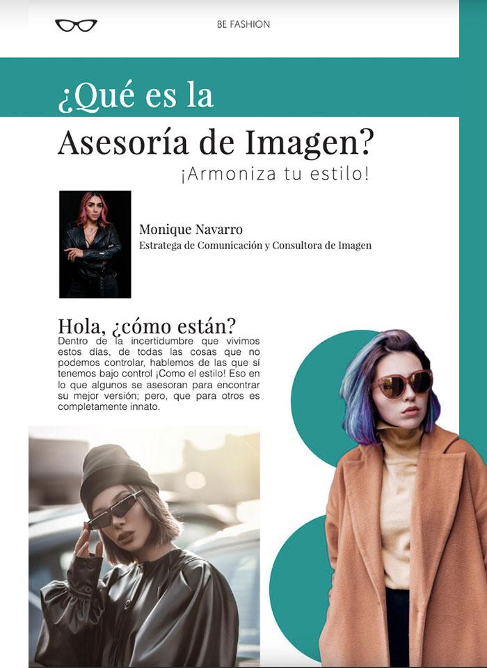 ¿Qué es la Asesoría de Imagen? Revista Being